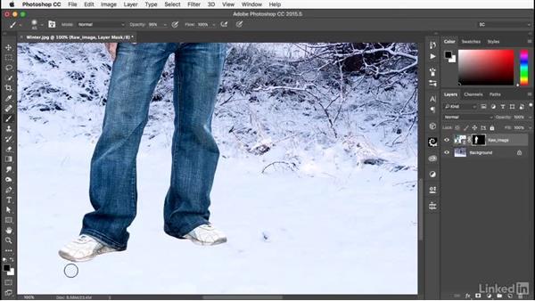 Adjusting the raw image: Photoshop: Smart Objects