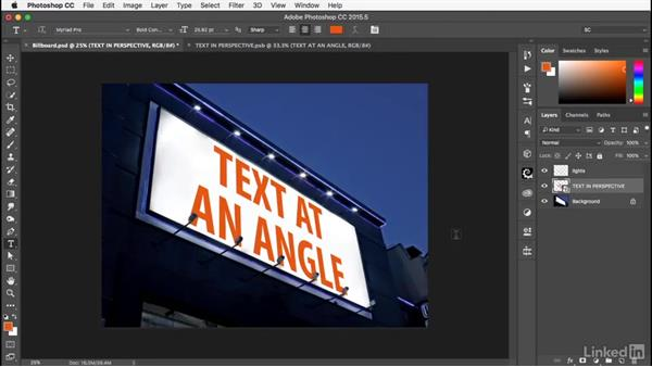Layer styles in perspective: Photoshop: Smart Objects