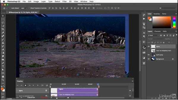 Working with movies: Photoshop: Smart Objects