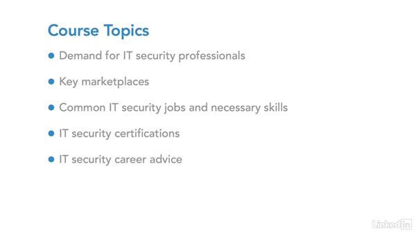 Who this course is for: IT Security Career Paths and Certifications