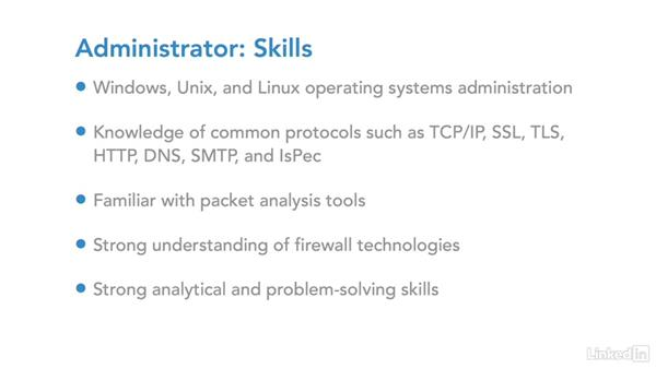 IT security career:  Administrator: IT Security Career Paths and Certifications