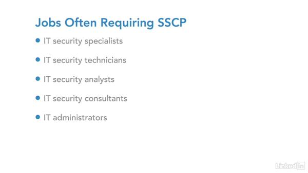 IT security certification: SSCP: IT Security Career Paths and Certifications