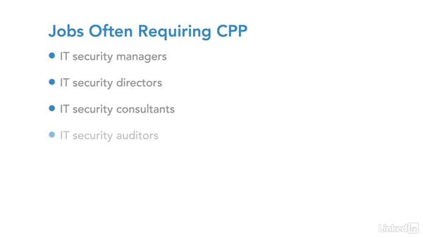 IT security certification: CPP: IT Security Career Paths and Certifications