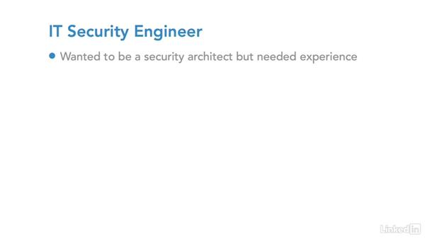 Example career path: Security srchitect: IT Security Career Paths and Certifications