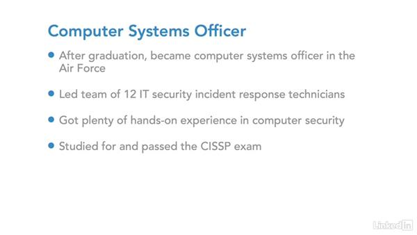 Example career path: CISO (director): IT Security Career Paths and Certifications