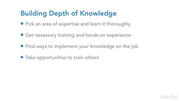 Build depth of knowledge: IT Security Career Paths and Certifications