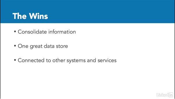 Dynamics CRM: The basics: Microsoft Dynamics CRM Essential Training