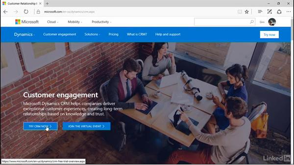 What you need for this course: Microsoft Dynamics CRM Essential Training
