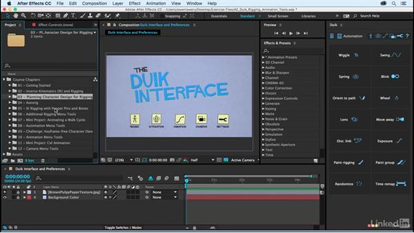Exercise files: After Effects Duik Rigging & Animation Tools