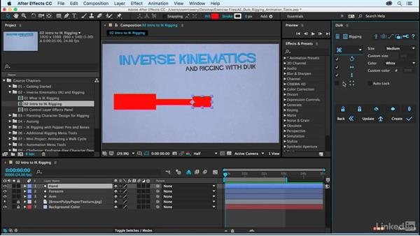 Introduction to IK rigging: After Effects Duik Rigging & Animation Tools