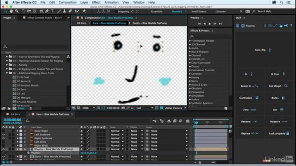 Zero object: After Effects Duik Rigging & Animation Tools