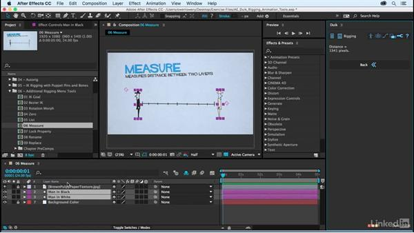 Measure: After Effects Duik Rigging & Animation Tools