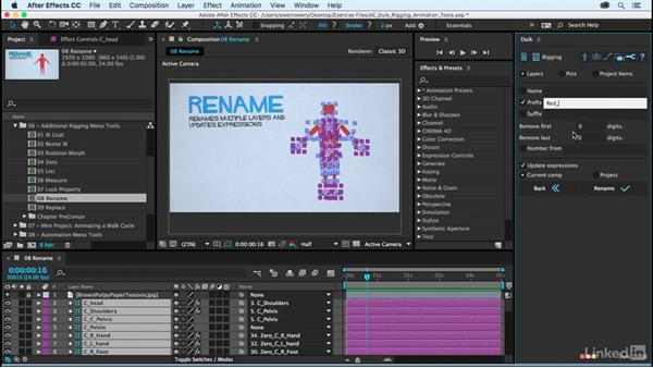 Rename: After Effects Duik Rigging & Animation Tools
