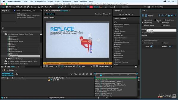 Replace: After Effects Duik Rigging & Animation Tools