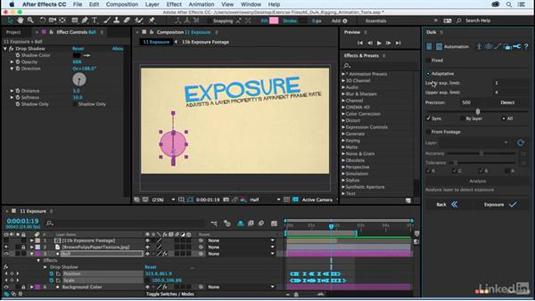 Exposure: After Effects Duik Rigging & Animation Tools