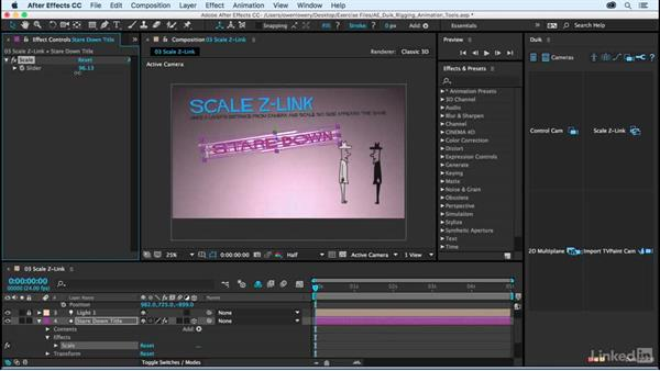 Scale Z-Link: After Effects Duik Rigging & Animation Tools