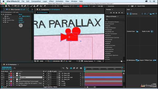 2D Multiplane: After Effects Duik Rigging & Animation Tools