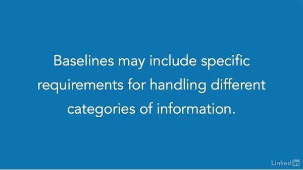 Developing security baselines: CISSP Cert Prep: 2 Asset Security