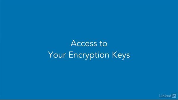 Cloud storage security: CISSP Cert Prep: 2 Asset Security