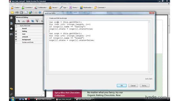 Manipulating PDF layers: Acrobat 9 Pro: Creating Multimedia Projects
