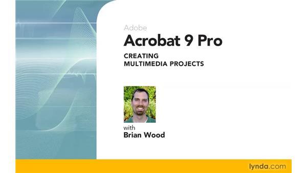 Goodbye: Acrobat 9 Pro: Creating Multimedia Projects