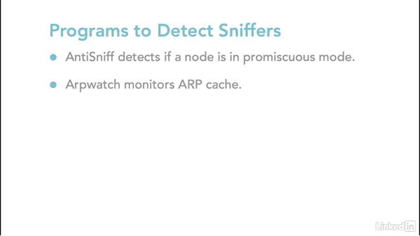 Defending against sniffing: Ethical Hacking: Sniffers