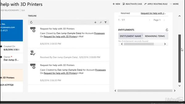Welcome: Microsoft Dynamics CRM: Customer Service