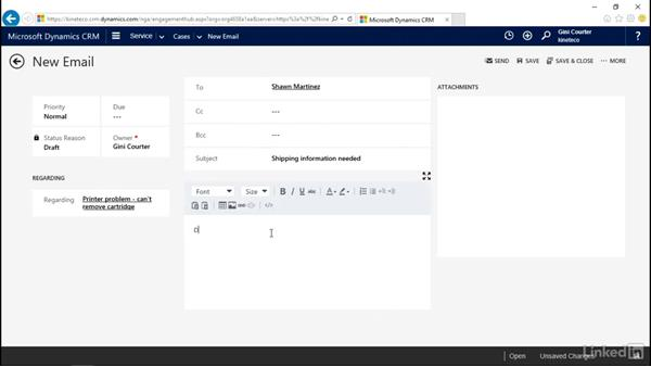 Add activities to the timeline: Microsoft Dynamics CRM: Customer Service