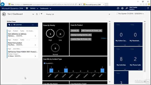 Sort and modify a stream: Microsoft Dynamics CRM: Customer Service