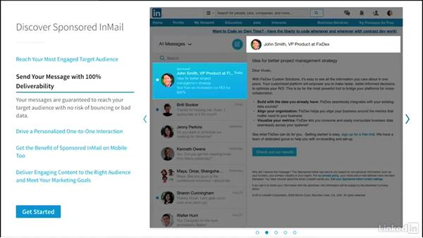 What is Sponsored InMail?: LinkedIn Sponsored InMail