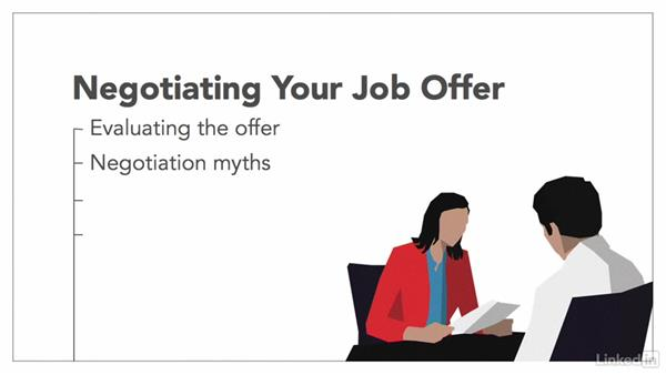 Welcome: Negotiating Your Job Offer