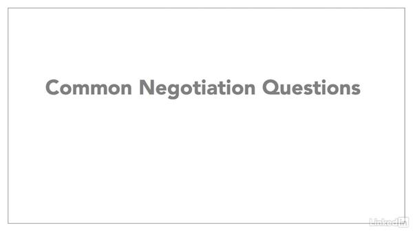 Prepare questions and counter points: Negotiating Your Job Offer