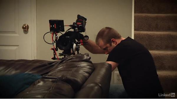 Shooting the living room scene: Creating a PSA Commercial