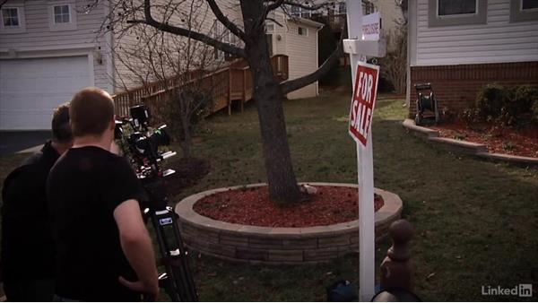 Shooting the exterior scene: Creating a PSA Commercial