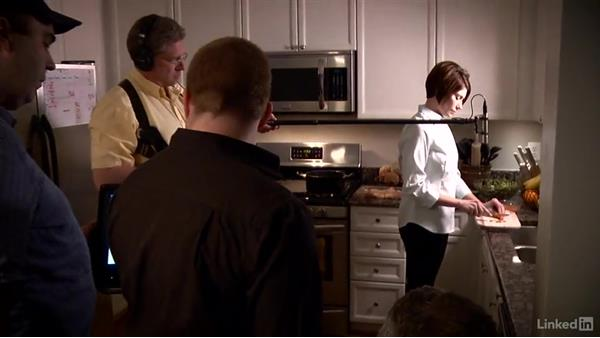 Shooting the night kitchen scene: Creating a PSA Commercial