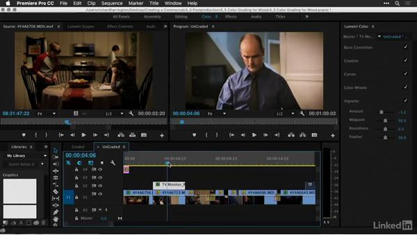 Color grading for mood: Creating a PSA Commercial