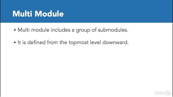 Inheritance vs. multi-module: Multi Module Build Automation with Maven