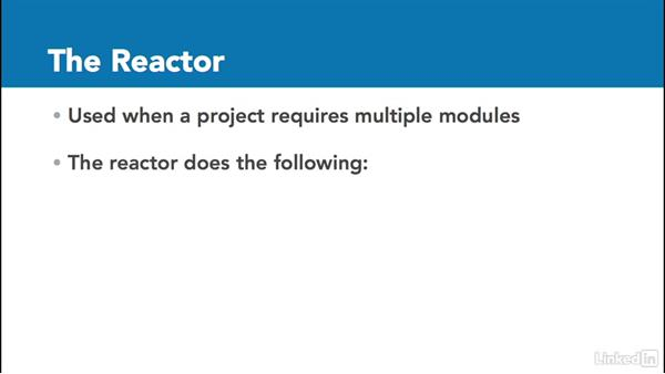 The reactor: Multi Module Build Automation with Maven