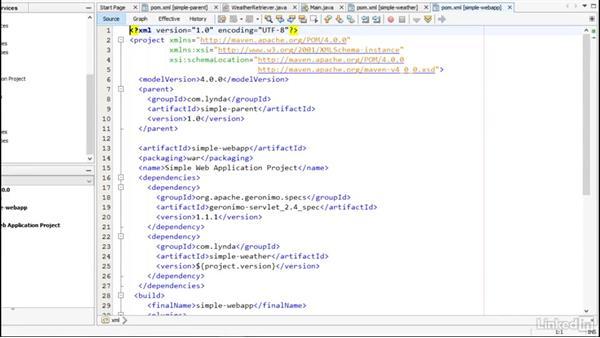 NetBeans: Multi Module Build Automation with Maven