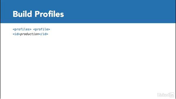Build profiles: Multi Module Build Automation with Maven
