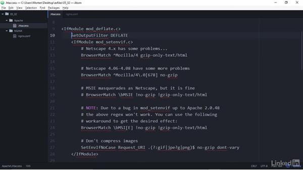 Compress data using GZIP