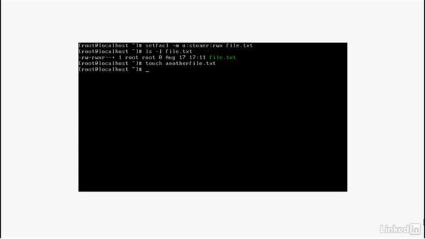 Reviewing RHEL administrator file management tasks: Set Up a Red Hat Enterprise Linux Server