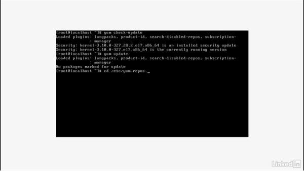 Managing software: Set Up a Red Hat Enterprise Linux Server
