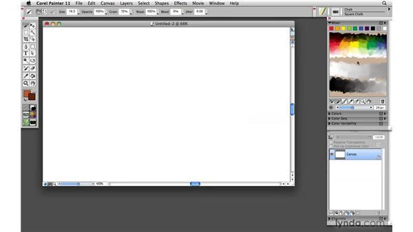 Configuring palettes: Painter 11 Essential Training
