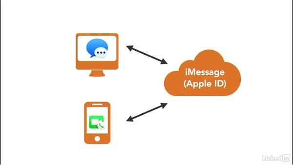 Using an Apple ID for iMessage and FaceTime: macOS Sierra Essential Training