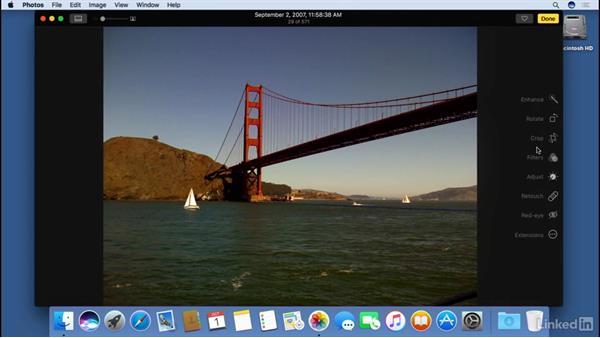 Photos: macOS Sierra Essential Training