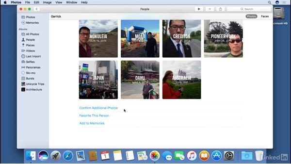 Organizing photos: macOS Sierra Essential Training