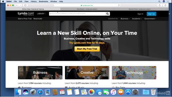 Next steps: macOS Sierra Essential Training