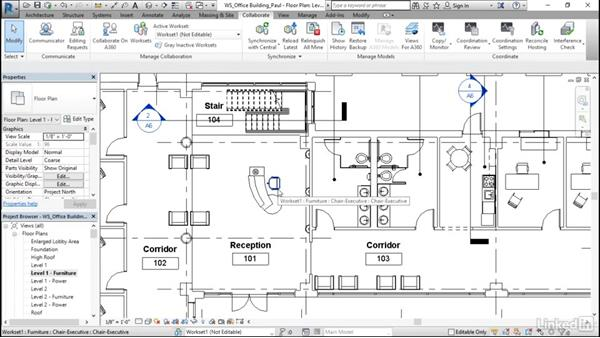 Editing elements: Revit Worksharing: Users