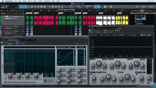 Processing vocals with EQ: Vocal Production Techniques: Editing and Mixing in Studio One
